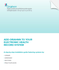 ORIAHNN Electronic Health Record Brochure